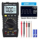 Digital Multimeter, LIUMY LM5005 6000 Counts Auto Range Multimeter mit True RMS,AC/DC Voltage Current Detector, Temperaturmessung, Hintergrundbeleuchtung und Resistance, Capacitance, Duty Cycle Tester