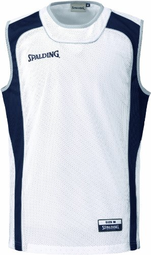 Spalding Teamtrikots & Sets Dreiteiliges Camp-set, marine/weiß, XXS, 300290604