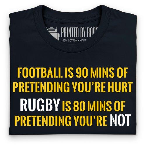Pretend T-Shirt, Herren Schwarz