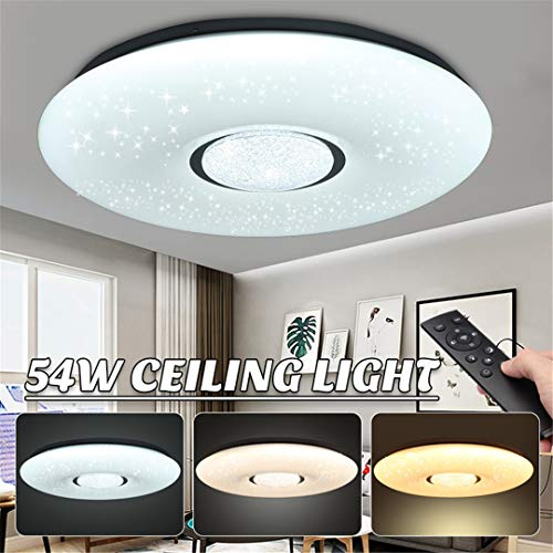 Sky-medaillons (LED-Deckenleuchte führte Glühlampen Starlight Stars Sky 3-Color Dimmable mit Fernbedienung)