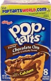 #8: Kellogg's Pop Tarts - Frosted - Chocolate Chips Flavour, 8 Counts