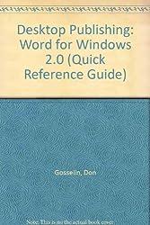 Desktop Publishing: Word for Windows 2.0