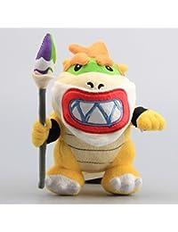Super Mario Bros Koopa Bowser JR Koopaling With Sword 7 Inch Toddler Stuffed Plush Kids Toys