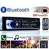 BoomBoost Car Stereo 12V FM In Dash Radio 1 DIN SD/USB AUX Bluetooth Handsfree car radio