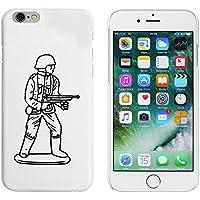 Azeeda White 'Army Figure' Case/Cover for iPhone 6 & 6s (MC00170890)