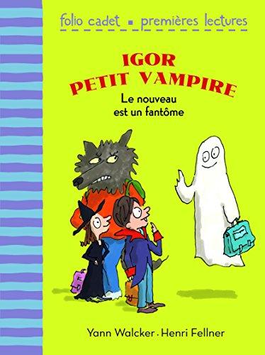 Igor petit vampire, 2:Le nouveau est un fantôme