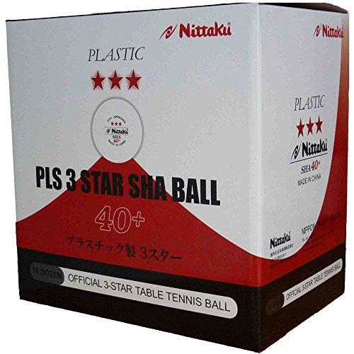 Nittaku Ball SHA * * * + 120ER Blanco