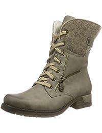 Rieker Damen 79609 Kurzschaft Stiefel