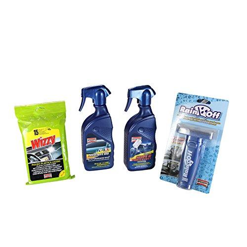 kit-dentretien-voiture-arexons-premium-aqua-zero-rainoff-super-protectant-aqua-zero-wizzy-plastic-cl
