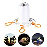 Camping LED Strip Light MINGER 100cm/3.29ft Outdoor Waterproof LED Rope Lights Portable LED Strips for Hiking Camping Emergencies Car(Cold White)