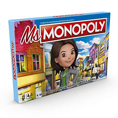 Hasbro Monopoly - Ms. Monopoly Gioco in Scatola, Colore Multicolore, E8424103