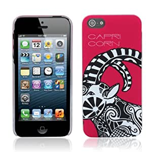 Aduro HOROSCOPE Snap-on Hard Case Cover for Apple iPhone 5 (Capricorn)