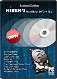 #3: Hiren Boot cd RECOVERY PC REPAIR DVD Disc Virus Removal Password Utilities Clone
