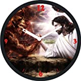 PAVIKA CREATOINS Lord Jesus Wall Clock