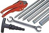 9-teiliges Werkzeug-Komplettset für Alu-Verbundrohr 16 x 2, 20 x 2, 26 x 3, und 32 x 3 mm