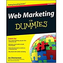[ Web Marketing For Dummies ] [ WEB MARKETING FOR DUMMIES ] BY Zimmerman, Jan ( AUTHOR ) Jan-06-2012 Paperback