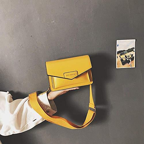 Ysuing UmhäNgetasche Damen Klein Kleine Tasche Frauengeschichten kleine quadratische Breitband-Crossbody Tasche 20 * 20 * 13 cm