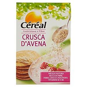 Cereal Crusca d'Avena, Pancake alla Crusca d'Avena e Lamponi - 400 gr 1 spesavip