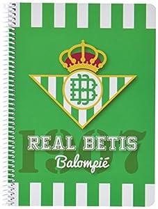 Real Betis Balompié- Cuaderno Cuarto 80 Hojas (CYP LC-01-BT)