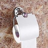 Toilettenpapierhalter Antike Toilettenpapierhalter Rose Gold Rollenpapierhalter Bad Papierhandtuchhalter Handschale
