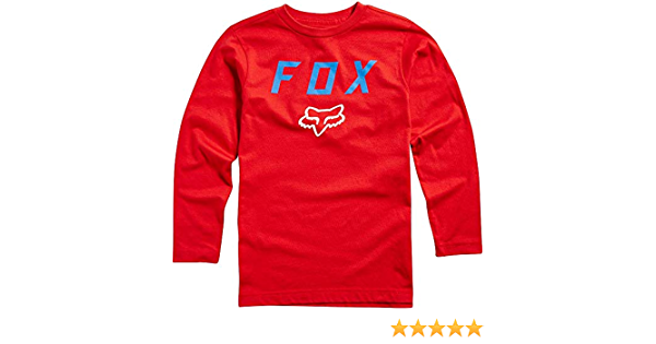 Fox Kinder Longsleeve Dusty Trails T Shirt Jungen Auto
