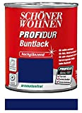 Schöner Wohnen ProfiDur Buntlack Ultramarinblau hochglänzend 750 ml