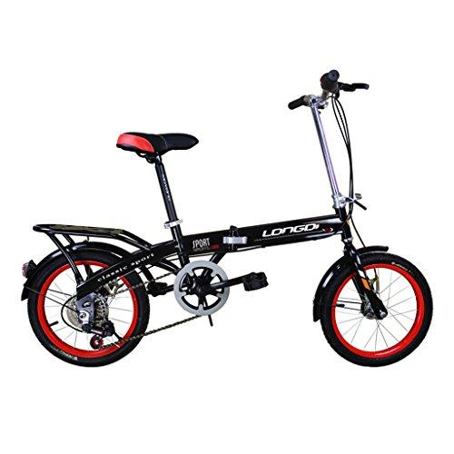 Vélo pliant 20 pouces Adulte Bicyclette Absorbeur de vitesse pour hommes et femmes vélo en acier...