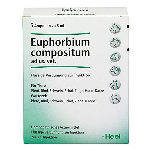 euphorbium compositum ampullen vet. 5X5 ml