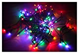 LED Lichterkette mit 20 LEDs - bunt - Batterie betrieben