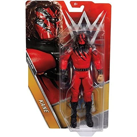 WWE Basic Series 74 Wrestling Action Figure - Kane - Debut Hell In A Cell Attire - Legends Box