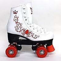 Kingdom Vector Quad patines de ruedas, Mujer, rojo