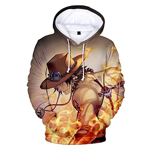 One Piece Sudadera con Capucha 3D Impresión Unisex Hoodies Hombres Mujeres  Hooded a6ad2d1d2e9