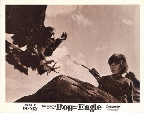 legend-of-the-boy-and-the-eagle-poster-11-x-14-inches-28cm-x-36cm-1967-style-b