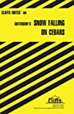 Cliffs Notes on Guterson's Snow Falling on Cedars (Cliffs Notes S.)