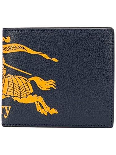 BURBERRY Herren 8005981 Blau Leder Brieftaschen