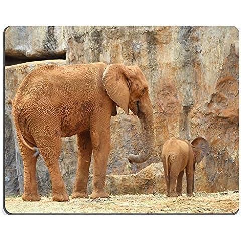 Luxlady Gaming Mousepad 34434617 foto ID: elefante africano, motivo zoo - Zoo Africano