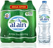 عبوة العرض الكبير من زجاجات مياه العين للشرب - 1.5 مل (مجموعة من 6)