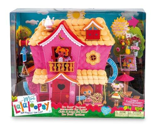 Mini Lalaloopsy - Wunderbares Haus + 8 cm Puppe