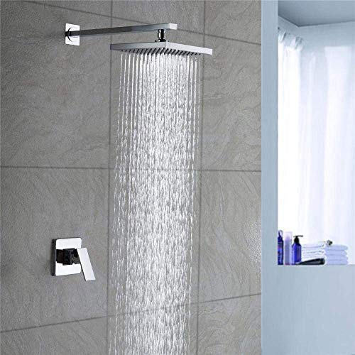 TYG Crop a Set of Concealed One-Hand Shower Fittings is Sprayed into the Copper Wall-Shower Set. -