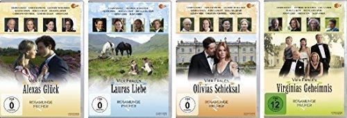 Rosamunde Pilcher Vier Frauen - Vier Filme im Set - Deutsche Originalware [4 DVDs]