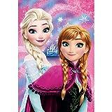 COPERTA Plaid Frozen Elsa Anna Disney in Pail CM.100x150 - 55884