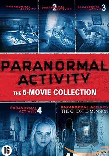 DVD - Paranormal Activity 1-5 (1 DVD)