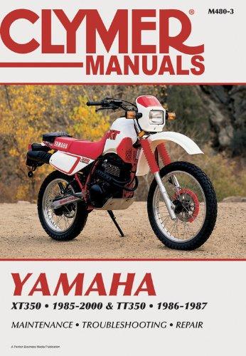 Yamaha Xt350 and Tt350 1985-2000 (CLYMER MOTORCYCLE REPAIR)