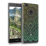 kwmobile Funda para Huawei P9 Lite - Case para móvil en TPU silicona - Cover trasero Diseño Sol...