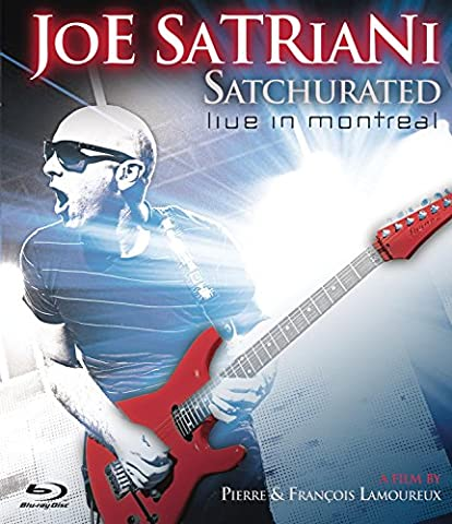 Satchurated: Live In Montreal [3D Blu-ray] (Beste 3d Blue Ray Filme)