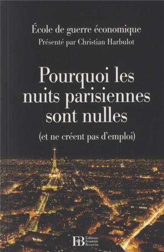 Pourquoi les nuits parisiennes sont nulles (et ne créent pas d'emploi)