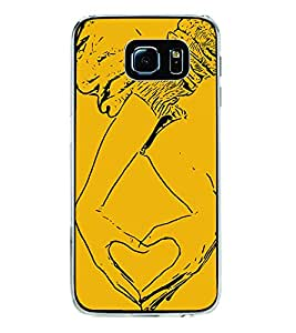 Heart Hands 2D Hard Polycarbonate Designer Back Case Cover for Samsung Galaxy S6 G920I :: Samsung Galaxy G9200 G9208 G9208/SS G9209 G920A G920F G920FD G920S G920T