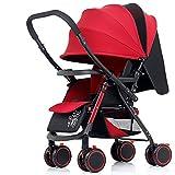 DUO Kinderfahrräder Vier Räder Baby Trolley New Baby Buggy Falten
