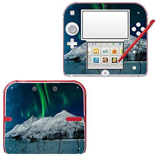 paisajes-162-hermosas-aurora-borealis-pegatina-de-piel-cubierta-de-vinilo-con-laminado-efecto-de-cue