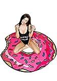 Ducomi Ibiza–Toalla redonda (ligero gasa ideal para Picnic, playa, piscina, Casa o para disfraz–Mantel con simpatiche Stampe colores–Diámetro 150cm)
